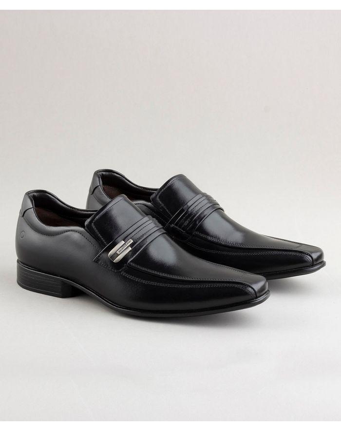 e7fa997780 Sapato Smart Comfort Clyde Preto - Democrata Mobile