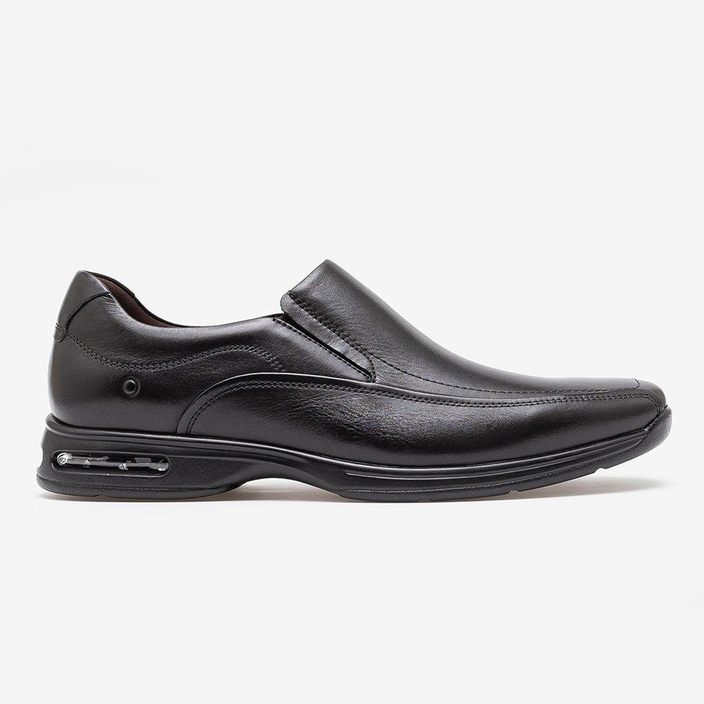 Sapato Smart Comfort Air Spot Preto