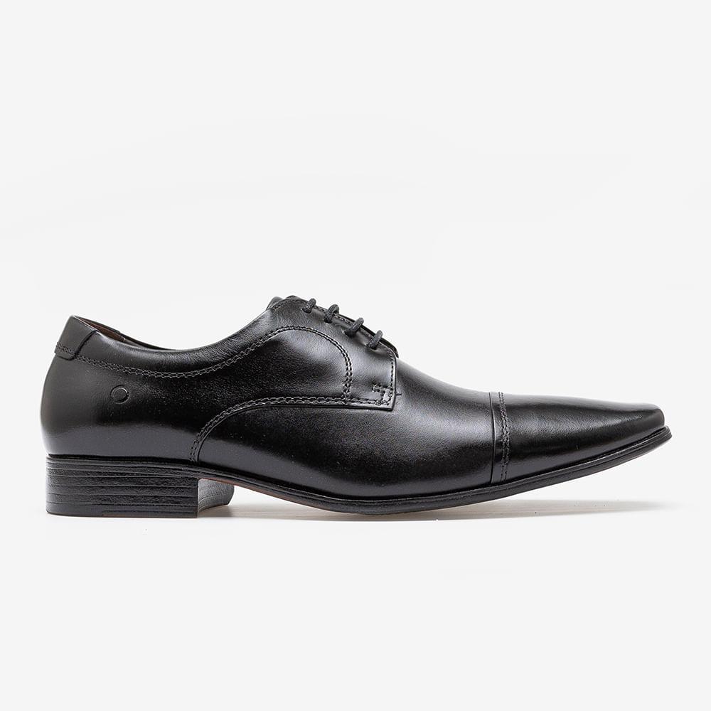 Sapato de Couro Metropolitan Aspen Preto