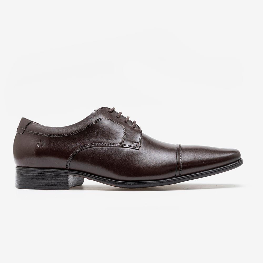 Sapato de Couro Metropolitan Aspen Mahogany