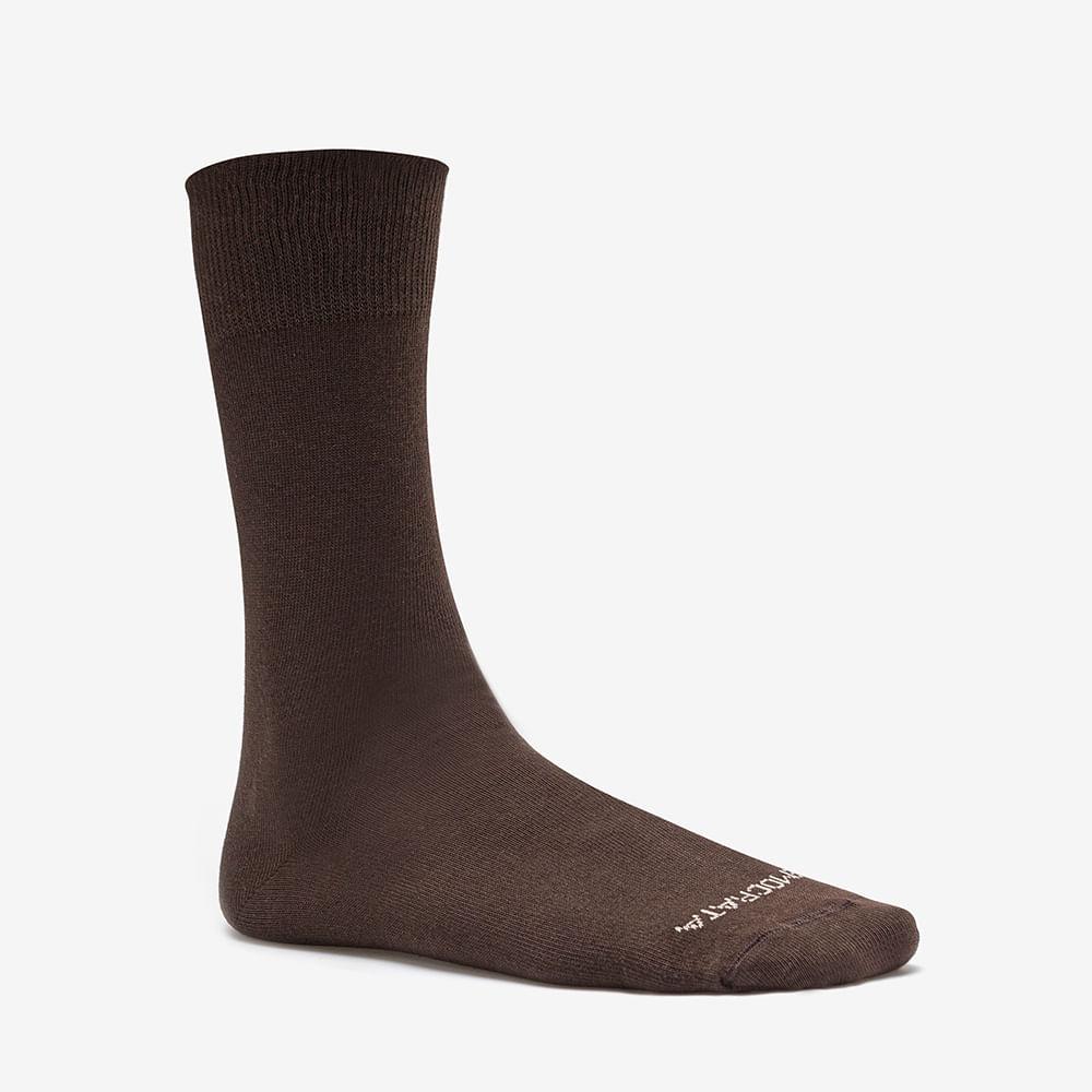 Meia Am Sportwear Marrom 39/43